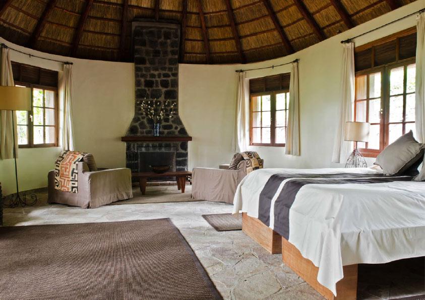 Luxury Gorilla Safari Lodge in Virunga